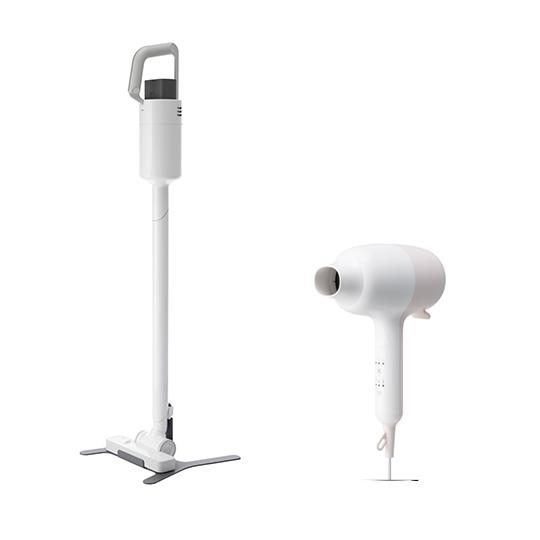 【組合優惠】XJC-C030無線吸塵器+XCD-D020 吹風機