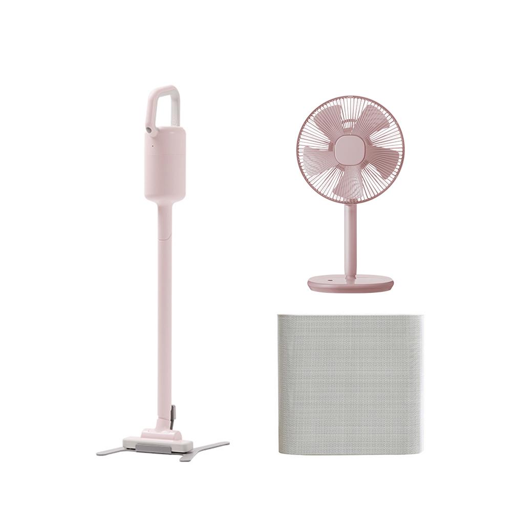 【除舊佈新組】XJC-Y010 吸塵器+Z710電風扇+X020空氣清淨機