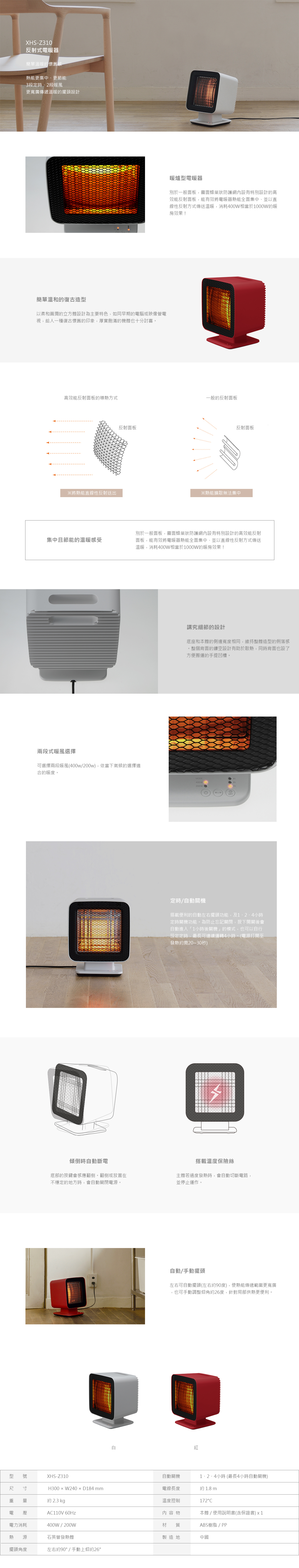 電暖器(買一送一)