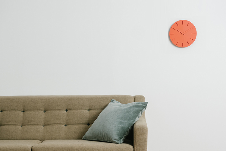 時鐘(白色)