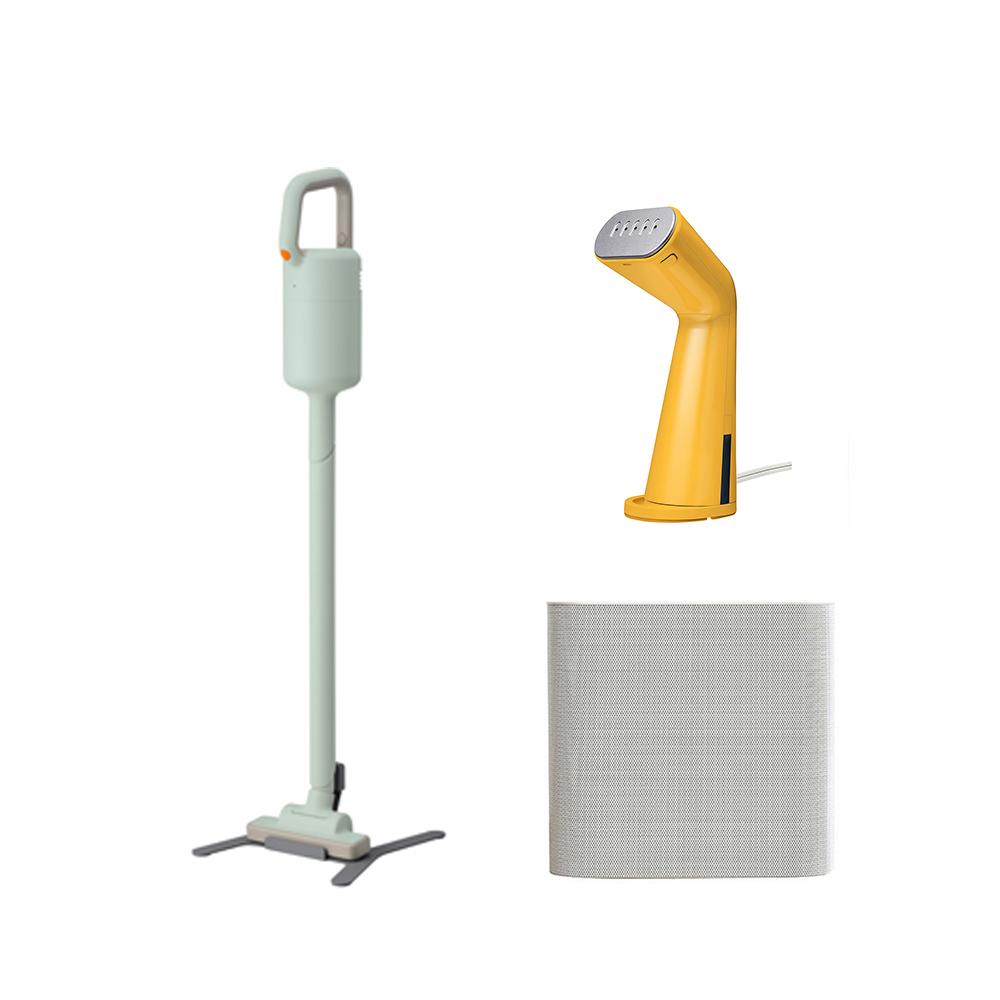 【除舊佈新組】XJC-Y010 吸塵器+D011掛燙機+X020空氣清淨機